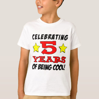 Celebrating 5 Years Of Being Cool T-Shirt