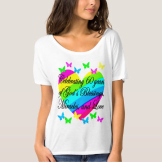 CELEBRATING 60 YEARS OF GOD'S LOVE T SHIRT