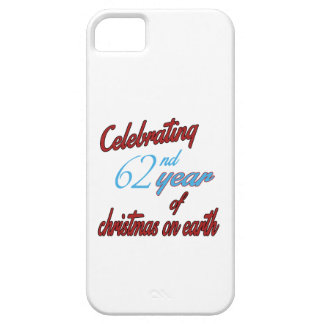 Celebrating 62nd year of christmas on earth iPhone 5 covers