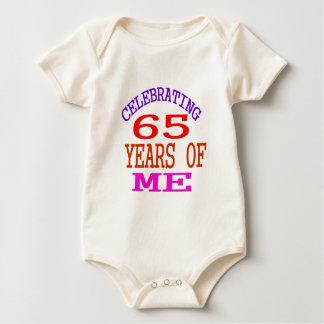 Celebrating 65 Years Of Me Baby Bodysuit