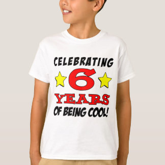 Celebrating 6 Years Of Being Cool T-Shirt