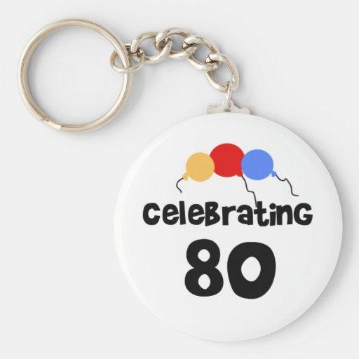 Celebrating 80 key chains