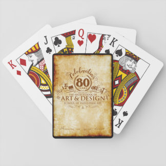 Celebrating 80 years of Art & Design playing cards