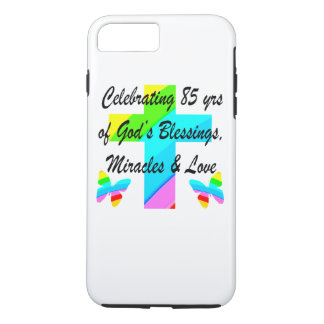 CELEBRATING 85 YEARS OF GODS MIRACLES AND LOVE iPhone 7 PLUS CASE
