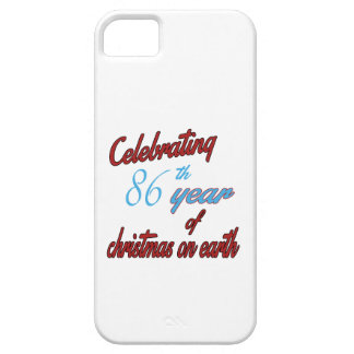 Celebrating 86th year of christmas on earth iPhone 5 covers