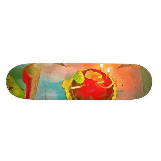 Celebrating a birthday custom skateboard