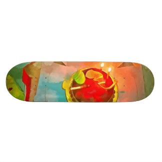 Celebrating a birthday skate board decks