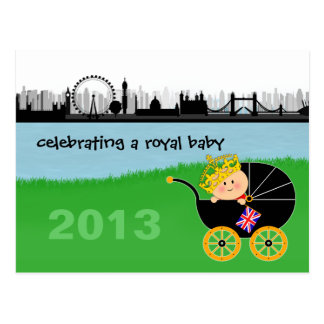Celebrating a Royal Baby Postcard