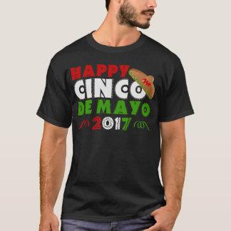 Celebrating Cinco de Mayo Sombrero T-Shirt