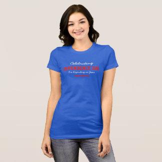 Celebrating Dependence Day women royal T-Shirt