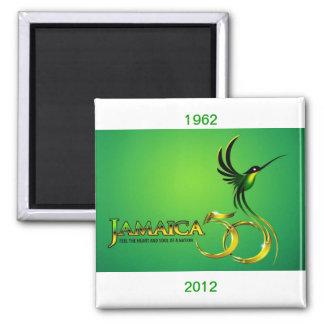 Celebrating Jamaica Independence Fridge Magnet