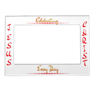 Celebrating Jesus Christ Christmas Frame