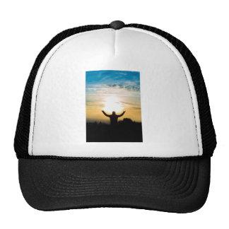 celebrating life mesh hat