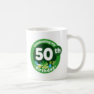 Celebrating My 50th Birthday Mugs