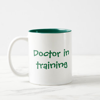 Celebrating nursing and medicine Two-Tone coffee mug