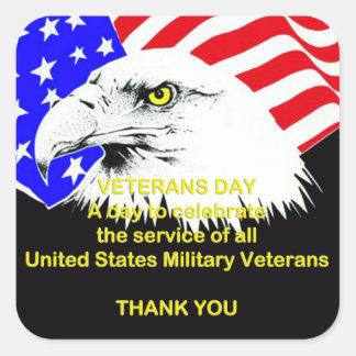 Celebrating Service Veterans Day Stickers