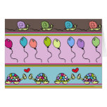 Celebrating Snails and Turtles Greeting Cards