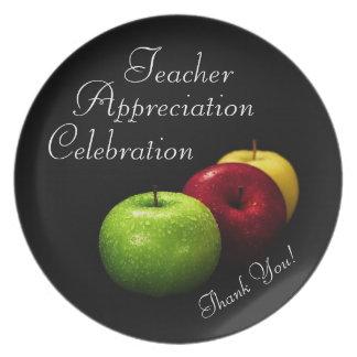 Celebrating Teachers Plate
