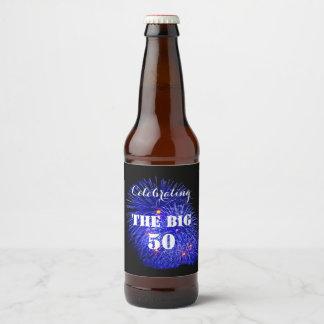 Celebrating THE BIG 50 - Beer Bottle Label