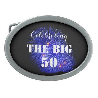 Celebrating THE BIG 50 - Oval Belt Buckles