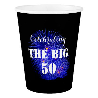 Celebrating THE BIG 50 - Paper Cup