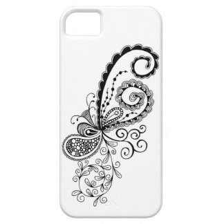Celebration - Abstract Doodle iPhone Case Barely There iPhone 5 Case