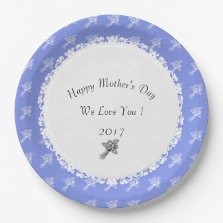 Celebration'--Anniversary-Template_Blueberry-White Paper Plate