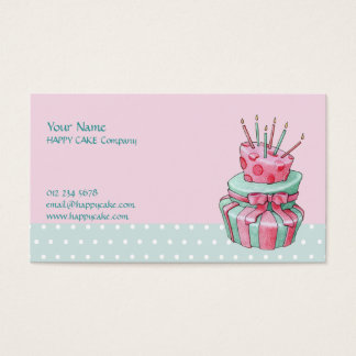 Celebration Cake Business Card