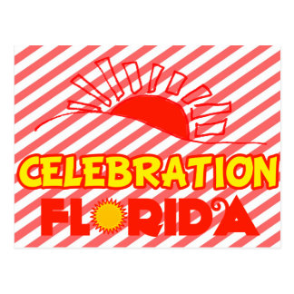 Celebration, Florida Postcard