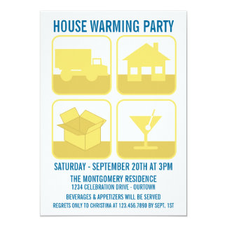 Celebration Housewarming Party Invitation