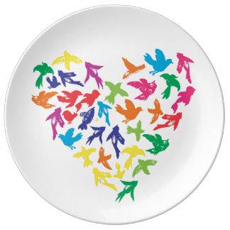 Celebration in Flight - Porcelain Plate