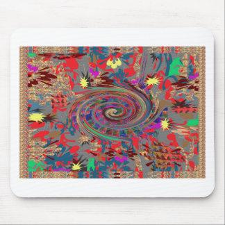 Celebration JOYFUL Energy Spiral Twilight Twister Mousepad