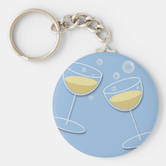 Celebration Basic Round Button Key Ring