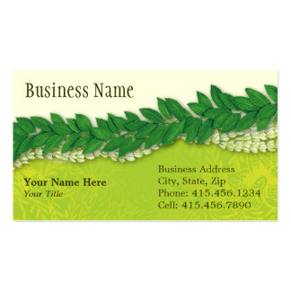 celebration lei2 business cards