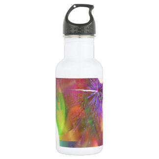 Celebration Lights and Fireworks Abstract 532 Ml Water Bottle