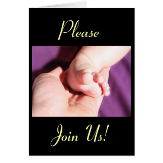 Celebration Of A Holy Baptism Baby Girl or Boy VI Greeting Cards