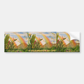 Celebration of Life bumper sticker