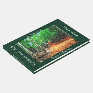 Celebration of Life Guest Book Path Thru Aspens