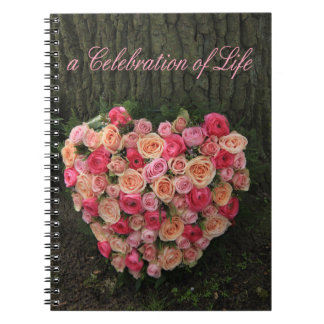Celebration of Life Note Book