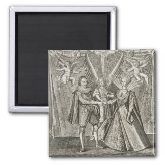 Celebration of the Marriage of James VI and I (156 Square Magnet