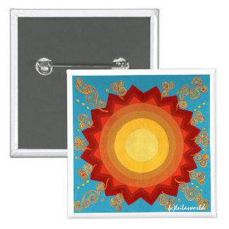 Celebration Of The Sun-Mini Global ART Tile Pin