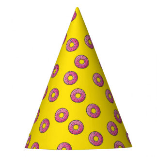 Celebration Party Sprinkles Doughnuts Favorites Party Hat