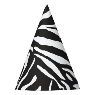 Celebration Party Zebra Skin Party Hat