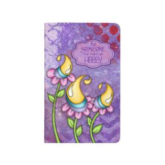 Celebration Positive Thought Doodle Flower Journal