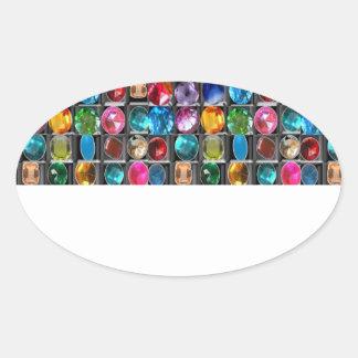 Celebration Shades for 2014 Season Oval Sticker