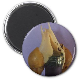 Celebration Snails 6 Cm Round Magnet