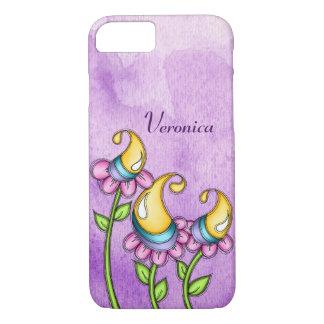 Celebration Watercolor Doodle Flower iPhone 8/7 iPhone 8/7 Case