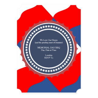 Celebration Wave Memorial Day Party Invitations