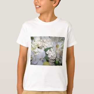 Celebration,White Roses & Orchies_ T-Shirt