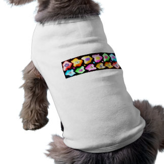 Celebrations: Floral Colorful Icebergs Dog Clothes